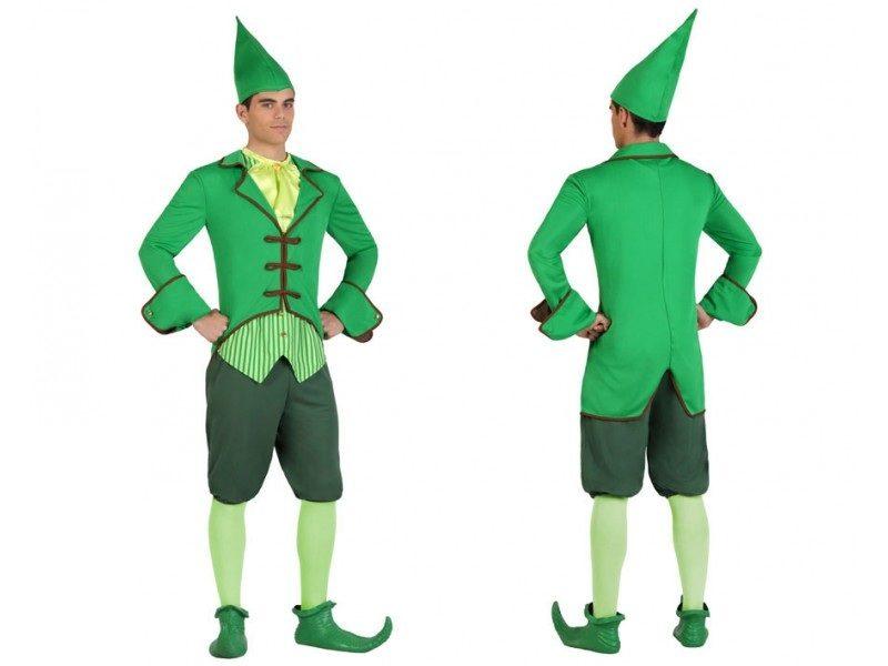 disfraz duende verde hombre 800x600 - DISFRAZ DE DUENDE VERDE HOMBRE