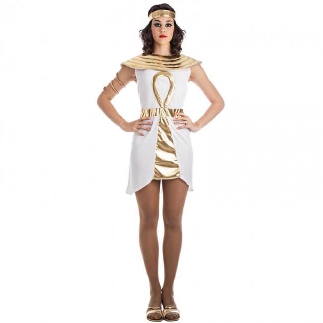 disfraz egipcia dorada para mujer - DISFRAZ DE EGIPCIA ORO MUJER
