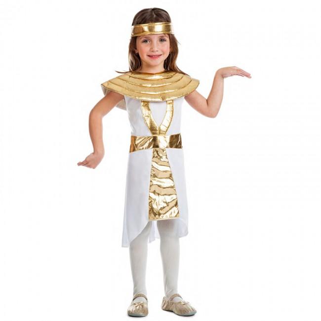 disfraz egipcia dorada para nina - DISFRAZ DE EGIPCIA ORO NIÑA