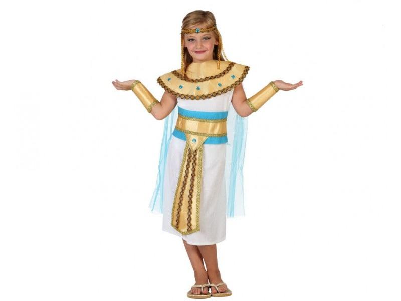 disfraz egipcia niña 1 - DISFRAZ DE EGIPCIA NIÑA