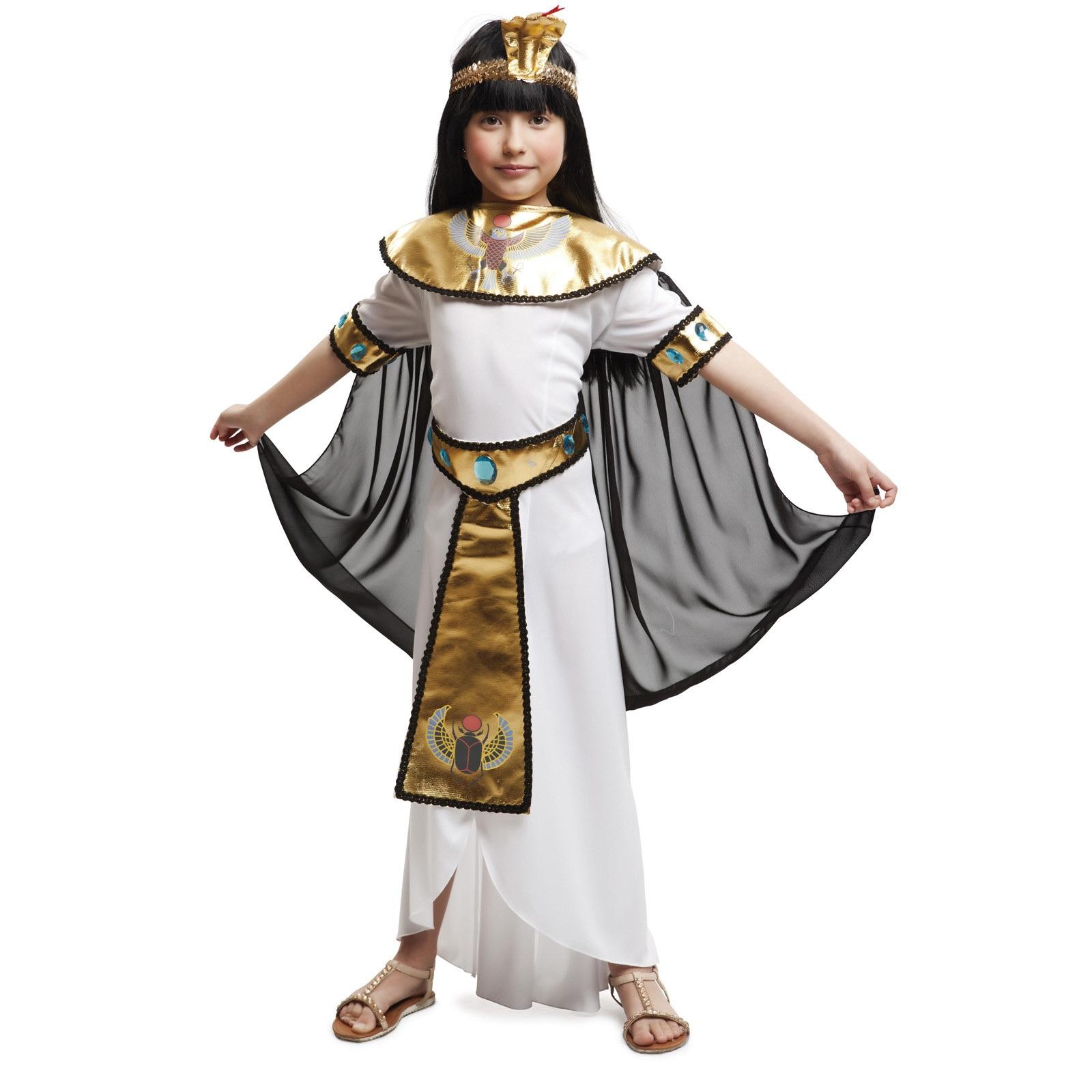 disfraz egipcia oro niña 203365mom - DISFRAZ DE EGIPCIA DORADA NIÑA