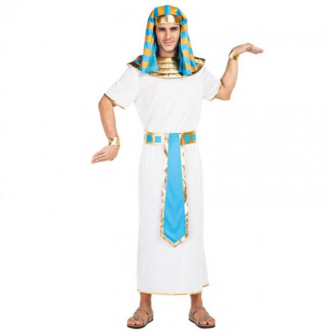 disfraz egipcio azul para hombre - DISFRAZ DE EGIPCIO AZUL HOMBRE