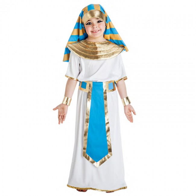 disfraz egipcio azul para nino - DISFRAZ DE EGIPCIO AZUL NIÑO