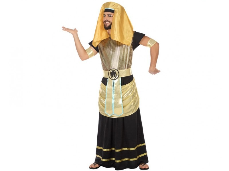 disfraz egipcio dorado hombre - DISFRAZ DE EGIPCIO DORADO HOMBRE