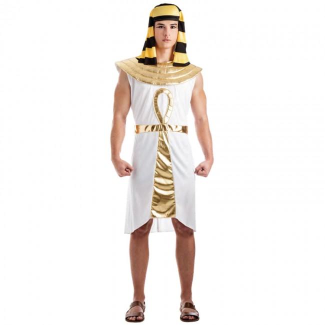 disfraz egipcio dorado para hombre - DISFRAZ DE EGIPCIO ORO HOMBRE