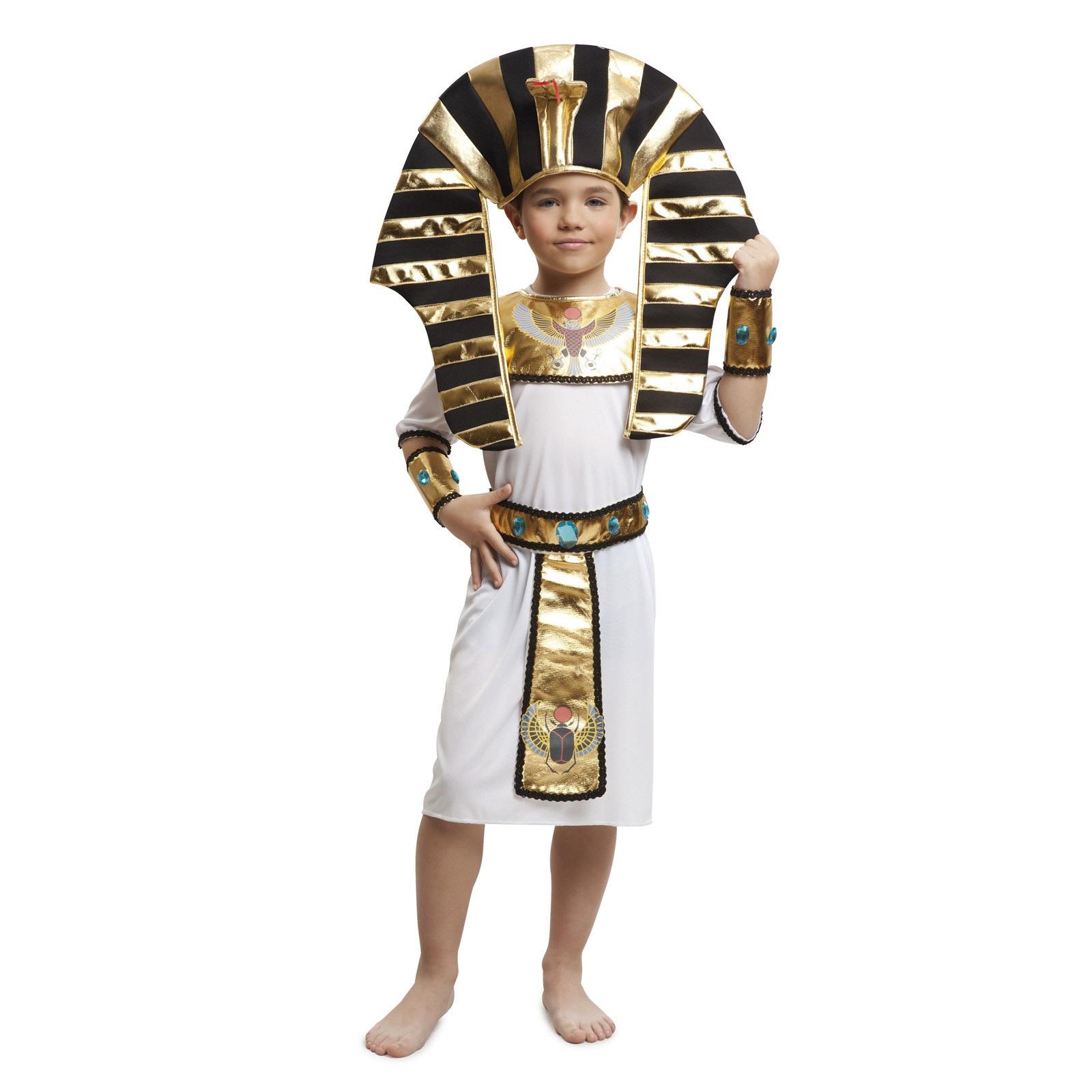 disfraz egipcio oro niño 203370mom - DISFRAZ DE EGIPCIO DORADO NIÑO