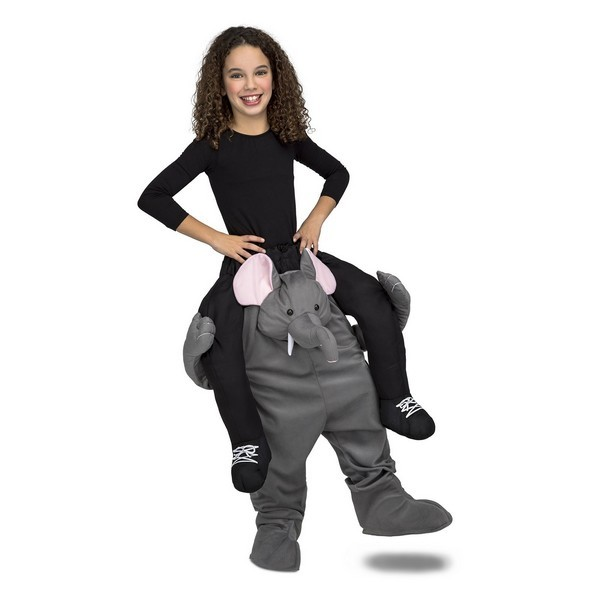 disfraz elefante a hombros infantil - DISFRAZ DE ELEFANTE A HOMBROS UNISEX