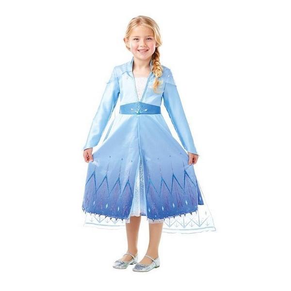 disfraz elsa frozen II niña - DISFRAZ DE ELSA FROZEN II