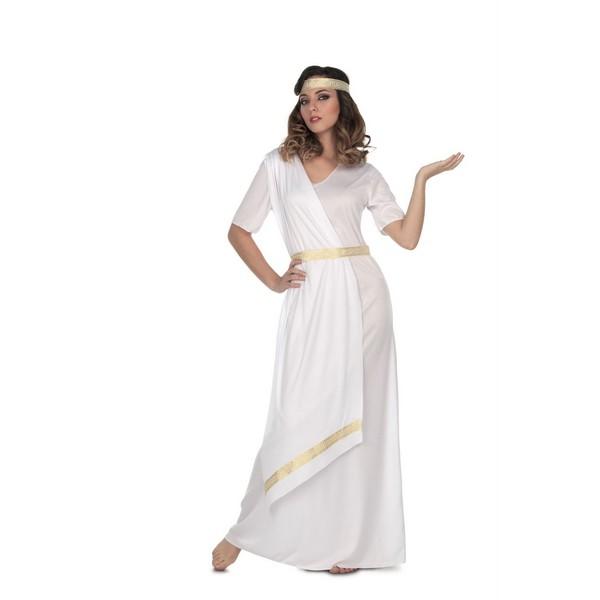 disfraz emperatriz romana mujer 2 - DISFRAZ DE  ROMANA LARGO MUJER