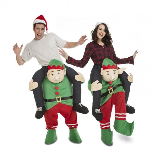 Disfraz de elfo a hombros adulto disfraces de hombre - Disfraces para navidad ...