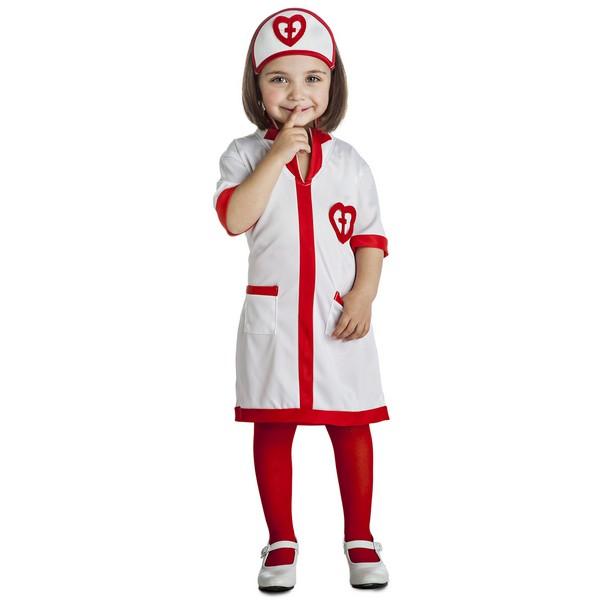 disfraz enfermera bebé - DISFRAZ DE ENFERMERA CORAZONES BEBE