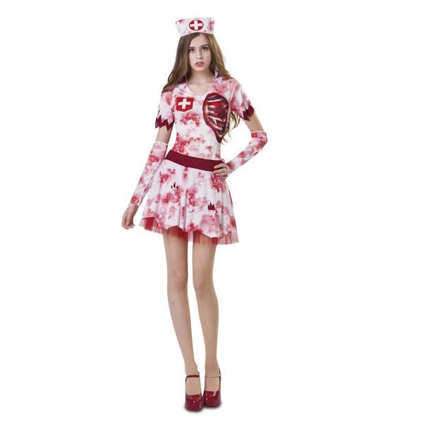 disfraz enfermera zombie mujer - DISFRAZ DE ENFERMERA ZOMBIE MUJER