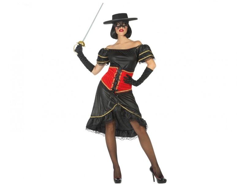 disfraz enmascarada enmascarada mujer - DISFRAZ DE ZORRO ENMASCARADA MUJER