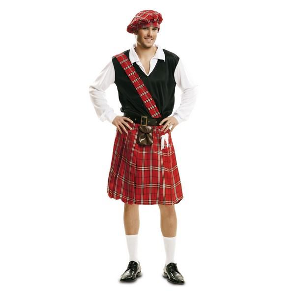 disfraz escocés hombre - DISFRAZ DE ESCOCES HOMBRE