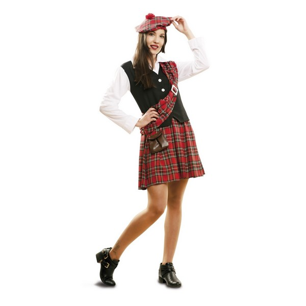 disfraz escocesa mujer 1 - DISFRAZ DE ESCOCESA MUJER