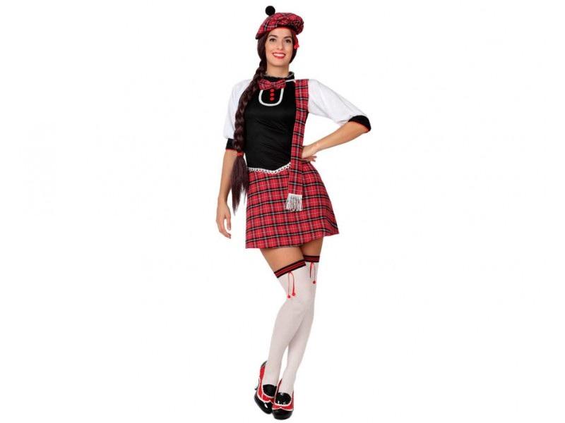 DISFRAZ DE ESCOCESA MUJER - Disfraces de Mujer - Tienda de disfraces ... b6d88e6b5c4