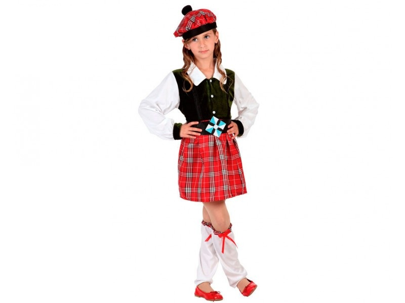 disfraz escocesa niña - DISFRAZ DE ESCOCESA NIÑA