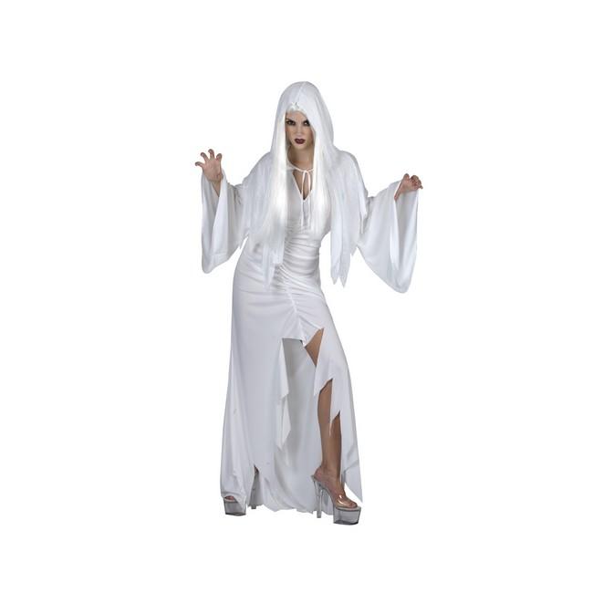 disfraz espiritu blanco mujer - DISFRAZ DE ESPIRITU BLANCO MUJER