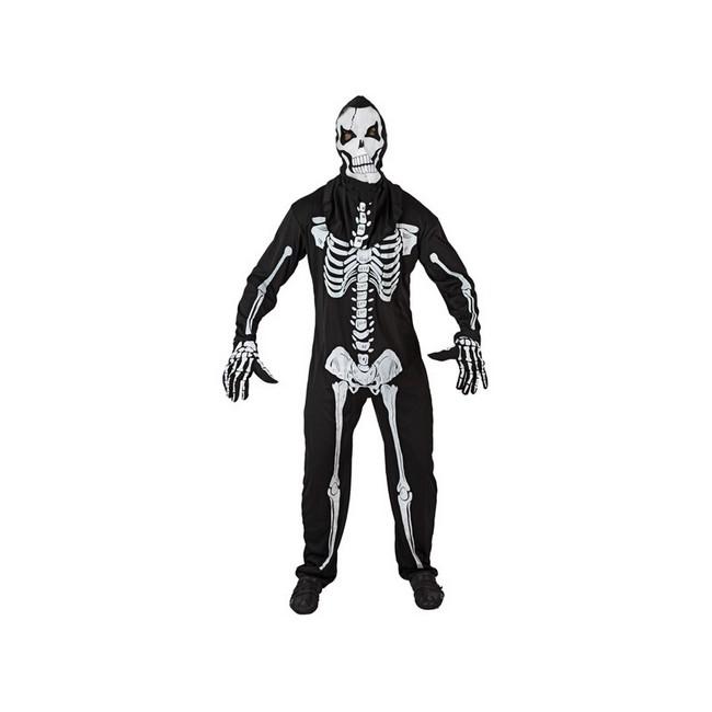 disfraz esqueleto viviente hombre - DISFRAZ DE ESQUELETO HOMBRE