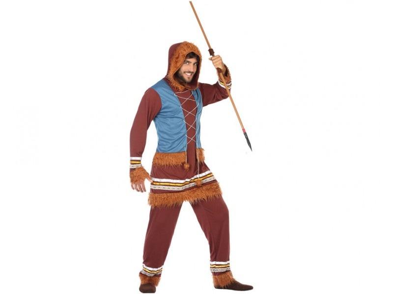 disfraz esquimal hombre 3 - DISFRAZ DE ESQUIMAL HOMBRE