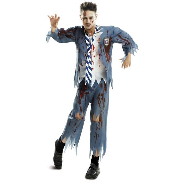 disfraz estudiante zombie hombre - DISFRAZ DE ESTUDIANTE ZOMBIE HOMBRE