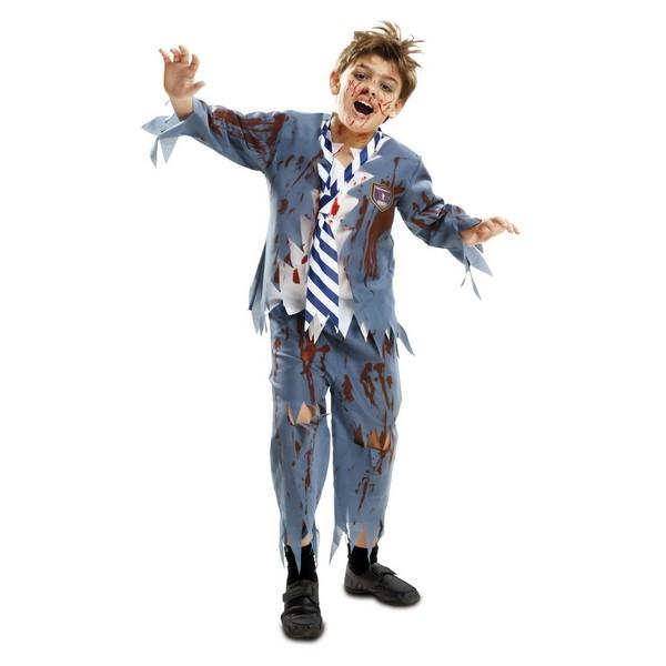 disfraz estudiante zoombie niño - DISFRAZ DE ZOMBIE NIÑO