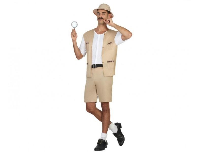 disfraz explorador corto hombre - DISFRAZ DE EXPLORADOR CORTO HOMBRE