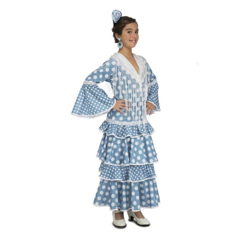 disfraz flamenca huelva niña 800x800 - DISFRAZ DE FLAMENCA HUELVA NIÑA