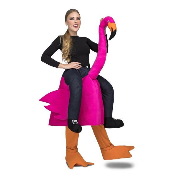 disfraz flamenco a hombros adulto - DISFRAZ DE FLAMENCO A HOMBROS ADULTO
