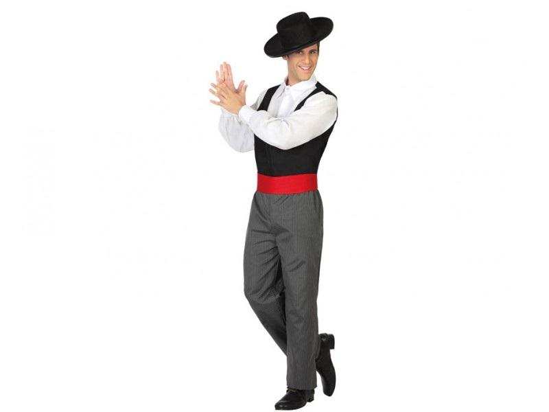 disfraz flamenco hombre - DISFRAZ DE FLAMENCO HOMBRE