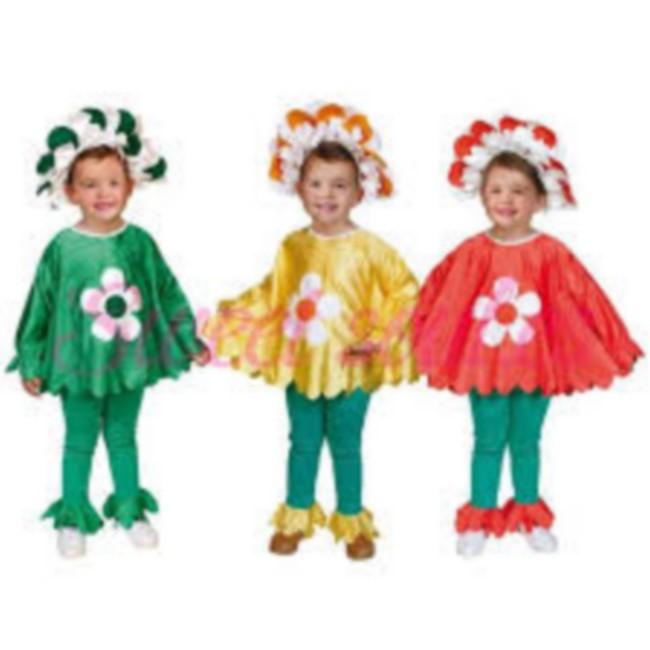 disfraz flor amarilla infantil - DISFRAZ DE FLOR VERDE NIÑA