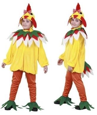 disfraz gallina amarilla infantil - DISFRAZ DE GALLINA AMARILLA INFANTIL