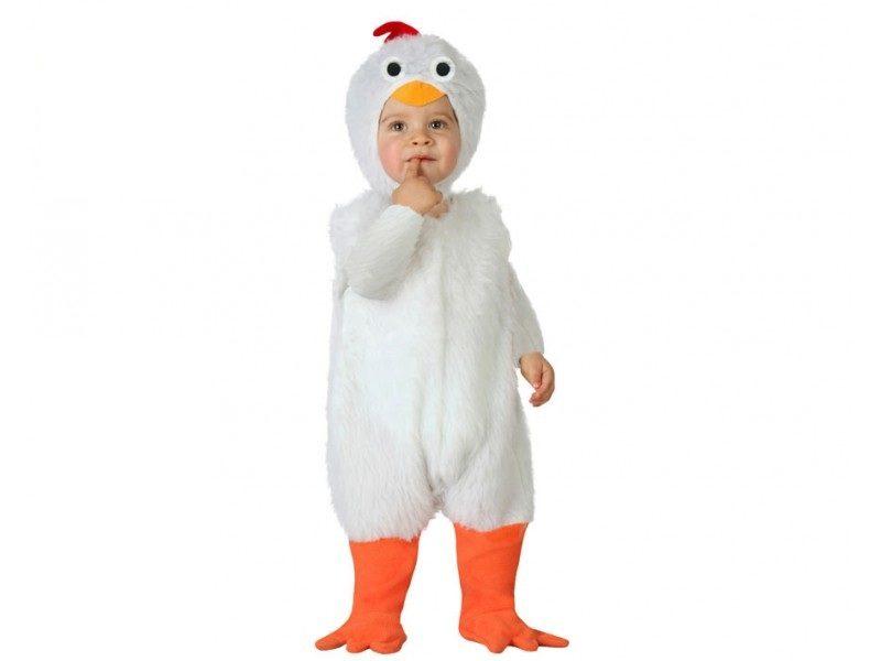 disfraz gallina bebé 800x600 - DISFRAZ DE GALLINA BEBÉ