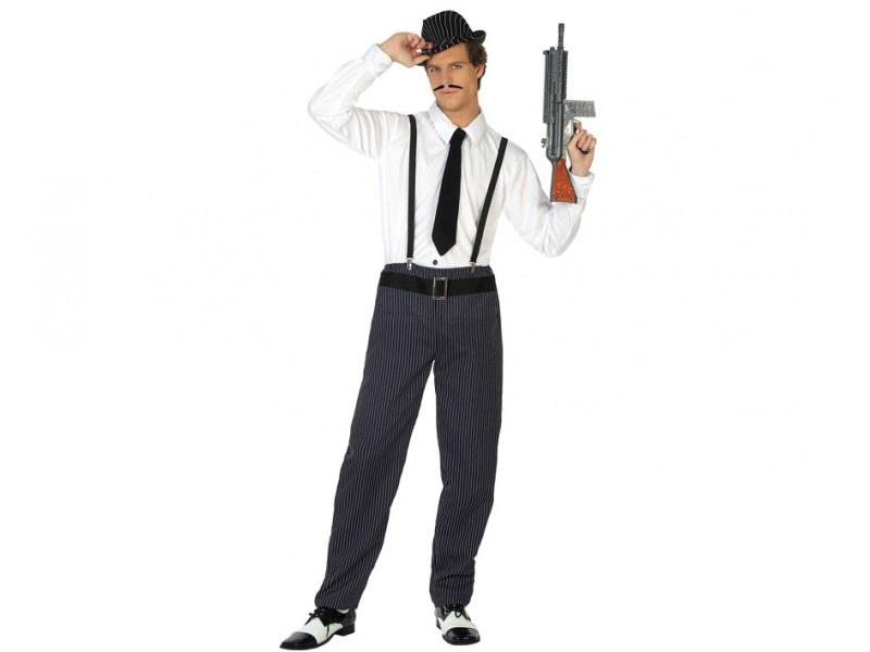 disfraz gangster hombre 1 - DISFRAZ DE GANSTER HOMBRE