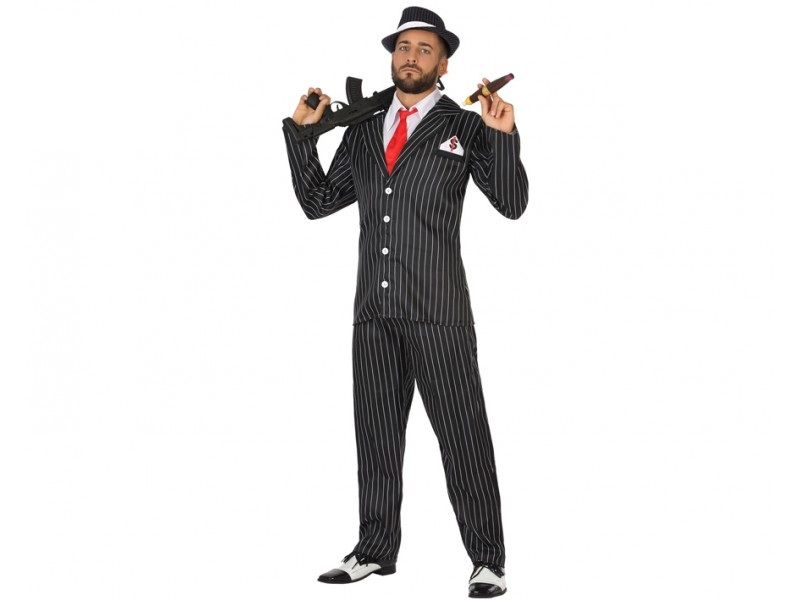 disfraz gangster hombre - DISFRAZ DE GANSTER HOMBRE