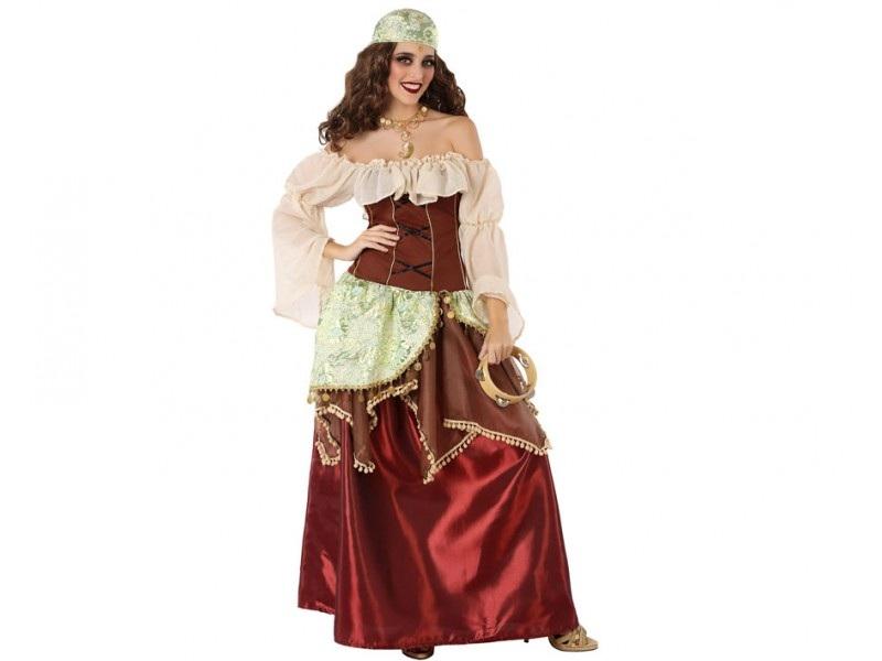 disfraz gitana mujer - DISFRAZ DE GITANA ZÍNGARA MUJER