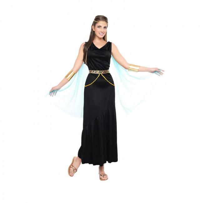 disfraz griega negra para mujer - DISFRAZ DE GRIEGA NEGRA MUJER
