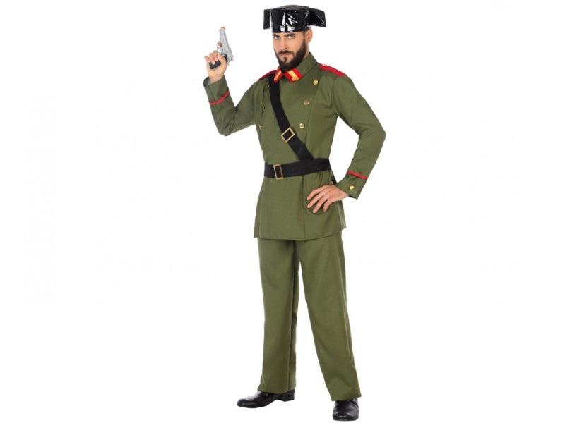 disfraz guardia civil hombre 1 - DISFRAZ DE GUARDIA CIVIL  BANDERA HOMBRE