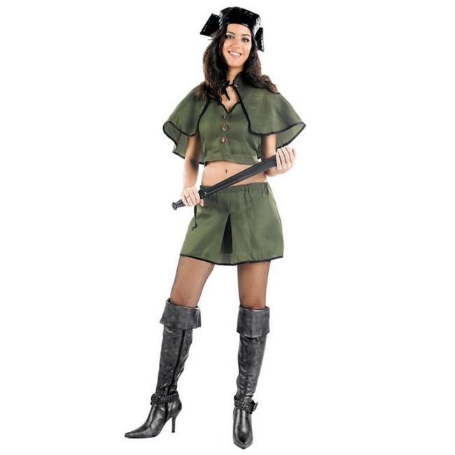 disfraz guardia civil mujer 1 - DISFRAZ DE GUARDIA CIVIL TOP MUJER