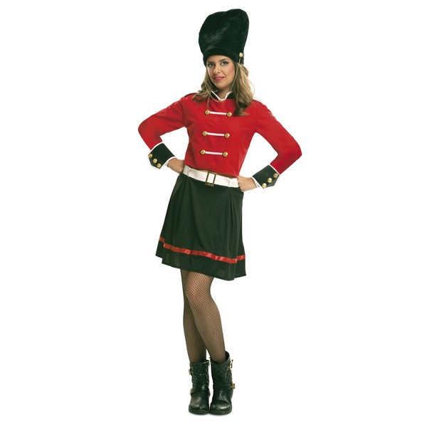 disfraz guardia inglesa mujer - DISFRAZ DE GUARDIA INGLESA MUJER