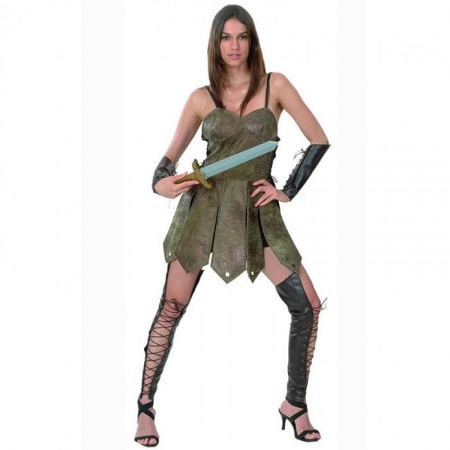 disfraz guerrera romana mujer - DISFRAZ DE GUERRERA ROMANA MUJER