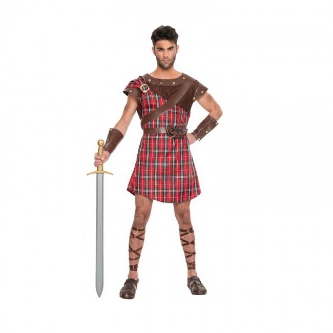 disfraz guerrero escoces braveheart para hombre - DISFRAZ  GUERRERO  BRAVEHEART HOMBRE