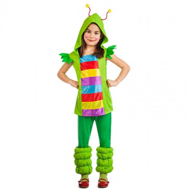 disfraz gusanita multicolor para nina - DISFRAZ GUSANITA MULTICOLOR NIÑA