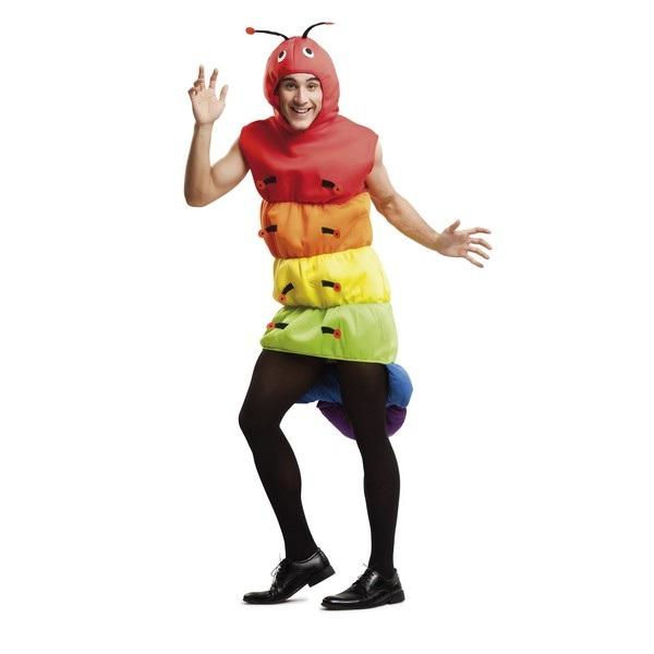 disfraz gusano hombre 203415mom - DISFRAZ DE GUSANO HOMBRE