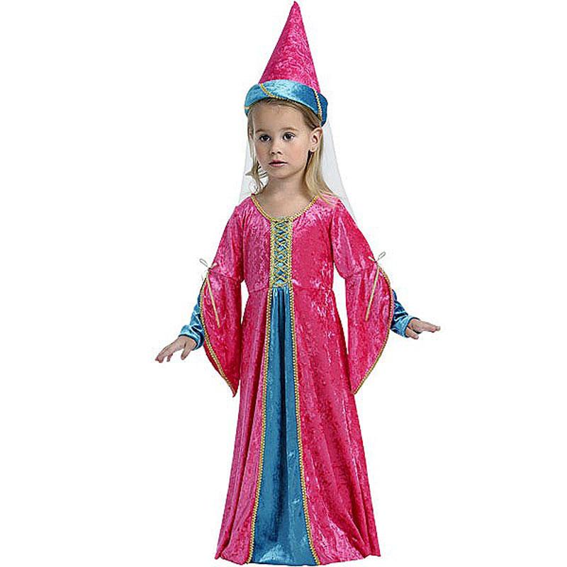 disfraz hada rosa infantil 1 - DISFRAZ DE HADA ROSA INFANTIL
