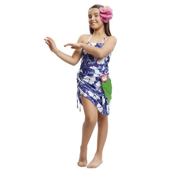 disfraz hawaiana niña - DISFRAZ DE HAWAIANA NIÑA