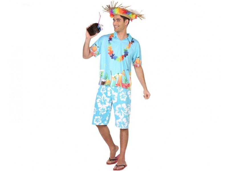 disfraz hawaiano hombre - DISFRAZ DE HAWAIANO PARA HOMBRE