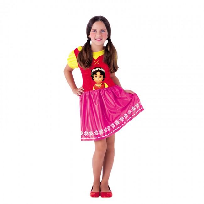 disfraz heidi niña s8390 - DISFRAZ DE HEIDI  LICENCIA NIÑA