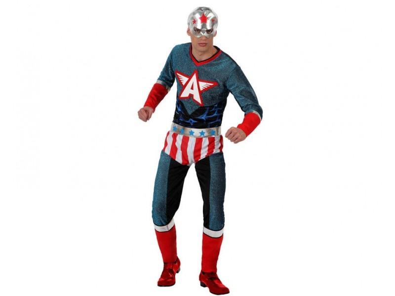 disfraz heroe comic hombre - DISFRAZ DE HEROE COMIC HOMBRE
