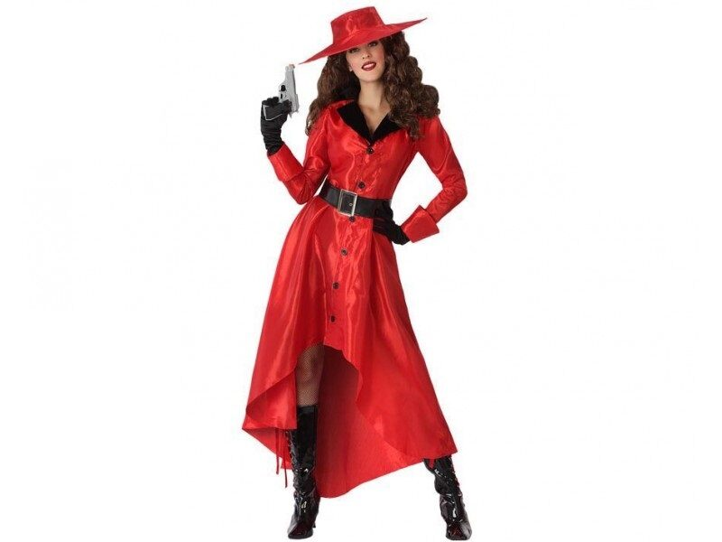 disfraz heroe comic rojo mujer 800x600 - DISFRACES MUJER